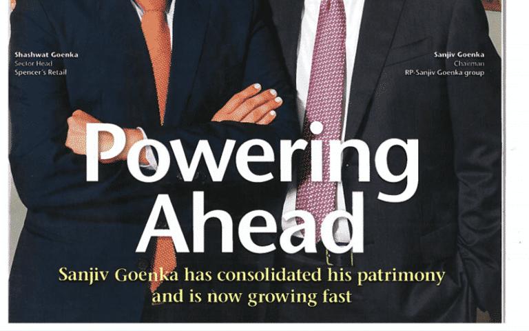 powering ahead